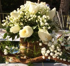 #tablescape #whiteroses #wedding #destinationwedding #boracaywedding