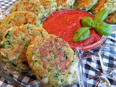 Italian Zucchini Cakes...Add carrot onion and corn