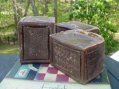 Coffee Soaps **** in French: Cafe au Lait