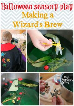 Halloween activities for kids - make a witch's or wizard's brew! This is so much FUN!
