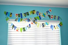 Scrappy Bunting at Sew Crafty Cat
