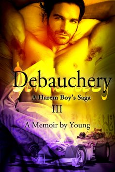 A Harem Boy's Saga - III - Debauchery; a memoir by Young. The triquel to Initiation and Unbridled. A Harem Boy's Saga is a 7 books series. Available at: www.amazon.com