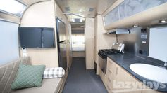 The inside of the 2015 #Airstream Eddie Bauer 27FB #RV is like no other.