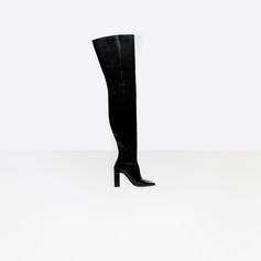 BALENCIAGA Square Over-the-knee Boots