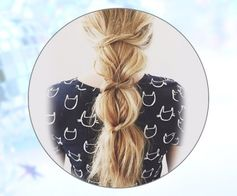 Simple Knotted Ponytail