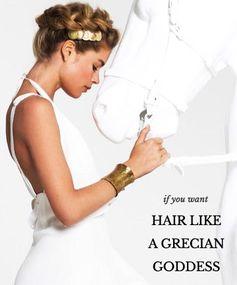 Deep Clean Your Hair Like a Grecian Goddess