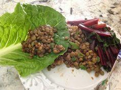 Gluten Free A-Z Blog: Vegan Chinese Lettuce Wrap