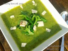 Welcome to Mommyhood: easy healthy recipes creamy broccoli soup #easyhealthymeals #toddlermeals