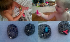 Dinosaur Eggs Activity for Toddlers