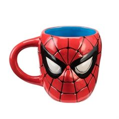 Marvel Spider-Man 20 oz. Sculpted Ceramic Mug #VandorLLC
