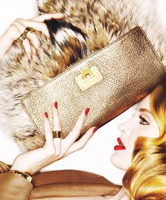 Styled to a T: Fur Purses