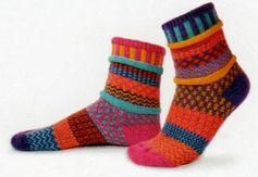 Solmate Socks Vermont Garden Carnation Sock