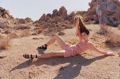 The desert as inspiration: Alexandra Marzella for HUGO