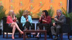 Marriah Media - Discussing The Santa Choice Awards at Book Expo America.