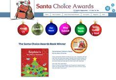 Santa Choice Award - Best Children's Book Winner!