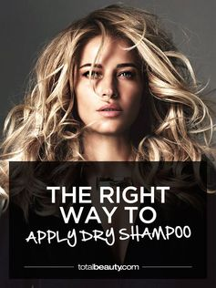 Not sure how to use dry shampoo? Learn how to apply this magical product