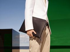 Summer-ready tailoring and the accessory to match