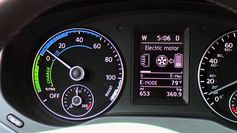 Volkswagen Jetta Hybrid Fuel Efficient Electric Only Mode
