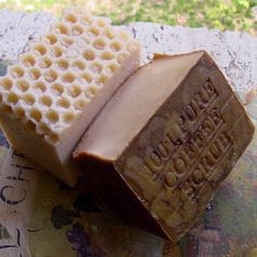 Coffee Soap Scrub  and Goat's Milk Soap...