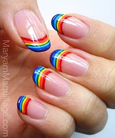 Rainbow Nails: Tip-Top Talons