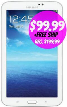 Shopko: Samsung Galaxy Tab 3 (8 GB) Tablet = $99.99 + FREE Shipping! Regularly $199.99!