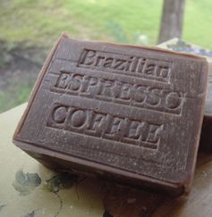 Coffee Soap: Brazil Coffee -