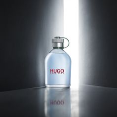 HUGO Man is defined by clean notes of green apple, sage and masculine cedar wood