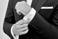 Attention to detail: cufflinks will add a little extra polish