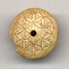 Ivory whorl from Cypros (1340 - 1050BC)