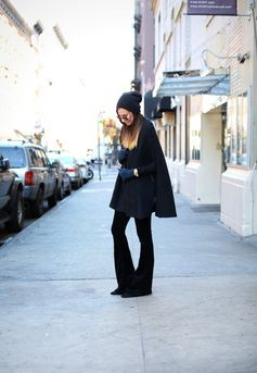 Cape and Poncho Outfit Ideas | Velvet