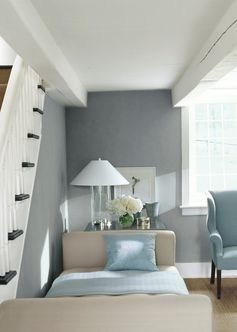 The Ralph Lauren Paint River Rock specialty finish is a quick and easy way to add sophisticated texture to your walls.