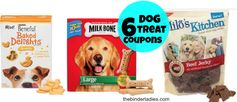 Dog Treats:  6 New High Value Coupons!