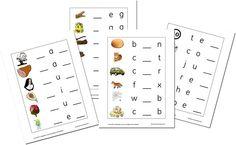CVC Worksheets! Awesome!