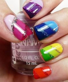 Rainbow Nails: Colorful Nail Art