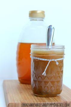 Homemade Honey Caramel Sauce - FSPDT