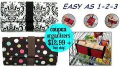 Amazon: Purse Size Coupon Organizers (lots of styles!)  = $12.99 + FREE Shipping (no minimum)!