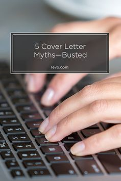 Busting 5 Cover Letter Myths