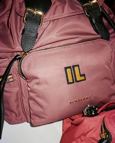 Add a monogram to The Rucksack for a personal touch