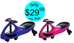 Staples.com:  Lil Rider Wiggle Car Ride On = $29.99 + FREE Shipping! Regularly $69.99!