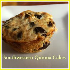 Southwestern Quinoa Cakes - Apples and Arteries