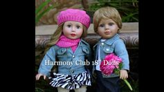 18 inch Girl Dolls, 18 inch Boy Dolls, Fashion that fits American Girl D...