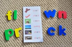 Trace and Spell of Consonant Blends