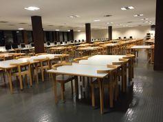 BIBLIOTECA DE CANARIAS. Sala de lectura (http://www.bbtk.ull.es/view/institucional/bbtk/Canarias/es) en la Planta 1ª de la Biblioteca General y de Humanidades. Campus de Guajara. Universidad de La Laguna.
