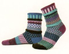 This sock is called Solmate Sock Vermont Garden Series Raspberry and there is a Native Raspberry in Vermont that is Purple