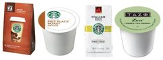 Coffee:  High Value Starbucks & Tazo Printable Coupons (Via, K-Cups & Packaged)!