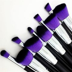 There's the professional way to clean your makeup brushes...and then there's the real girl way. Here's how to effectively degunk and de-grime your brushes when you don't want to spend hours doing so (and really, who does?).