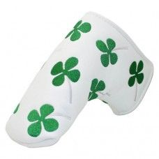 Lucky Shamrock Putter Cover