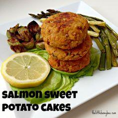 Salmon Sweet Potato Cakes4