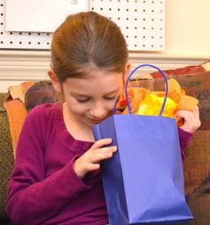 Teaching Kids the Art of Graciousness when receiving gifts.