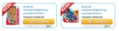 Transformers:  High Value Toy Coupons + Great Walmart.com Prince Match Deals @ Target!